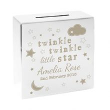 Twinkle Twinkle Square Money Box